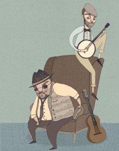 Blues to Go. Theater Pfütze, Nürnberg
