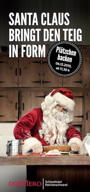 Plätzchen Backen für Kinder. Mit der Emanuel Wöhrl Stiftung am 06.12.2014 ab 11:30 Uhr.