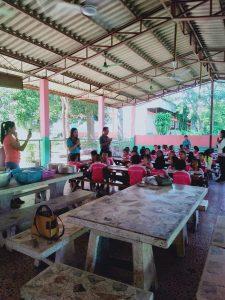 Neue Toilettenanlagen für Dongphayungsongkhro School in Donchan, Kalasin, Thailand
