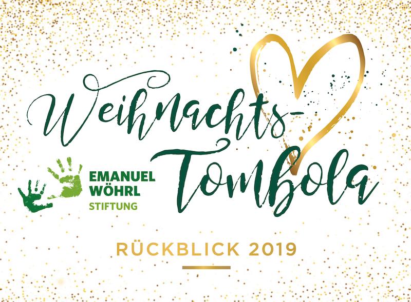 Weihnachtstombola der Emanuel Wöhrl Stiftung