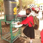 Ostergrüße aus dem Emmanuel Center - Händewaschen