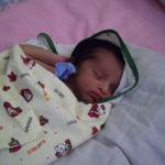 Dagmar Wöhrl Babyhospital Galle Sri Lanka Saeugling