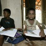 Mahamaya-Grundschule Hikkaduwa Sri Lanka Endlich wieder Lernen