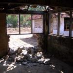 Mahamaya-Grundschule Hikkaduwa Sri Lanka Spuren der Zerstoerung
