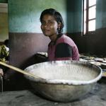 Dagmar Wöhrl Waisenhaus bei Hikkaduwa Sri Lanka Waisenhaus Kueche