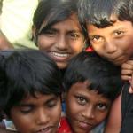 Dagmar Wöhrl Waisenhaus bei Hikkaduwa Sri Lanka Waisenkinder