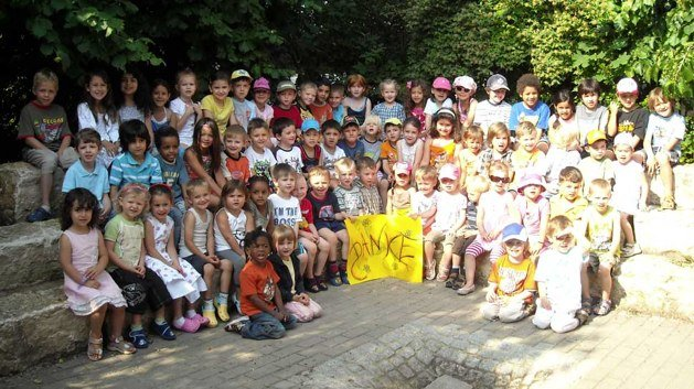 Kindergarten St-Johannis Nürnberg bedankt sich bei Emanuel Wöhrl Stiftung für Spenden
